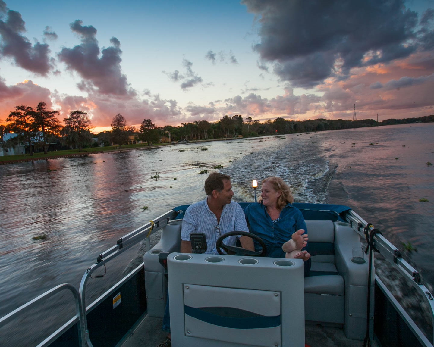 Cynthia and Warren Billings, Founders of Floating Bungalows