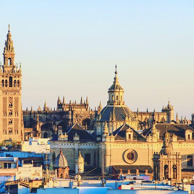 Idee per il ponte del 1° Maggio⁉️ ➡️Siviglia è una città bellissima oltre ad essere il fulcro del sud della Spagna. Se volete trascorrere un ponte in Andalusia e conoscere il flamenco, l'ottima cucina, la cultura e i paesaggi spagnoli, Siviglia è la città perfetta per voi! Potrete godervi un'ottima passeggiata tra gli alberi di arance e una cerveza nei bar affollati dal calore e dalle chiacchere dei Sivigliani.  Per maggiori dettagli chiamaci o vieni a trovarci in agenzia #4lviaggi#lomagna#agenziaviaggi#agenziadiviaggio#siviglia#sudspagna#spagna#vacanza#primomaggio#prenotaconnoi#tiaspettiamo#passadanoi#