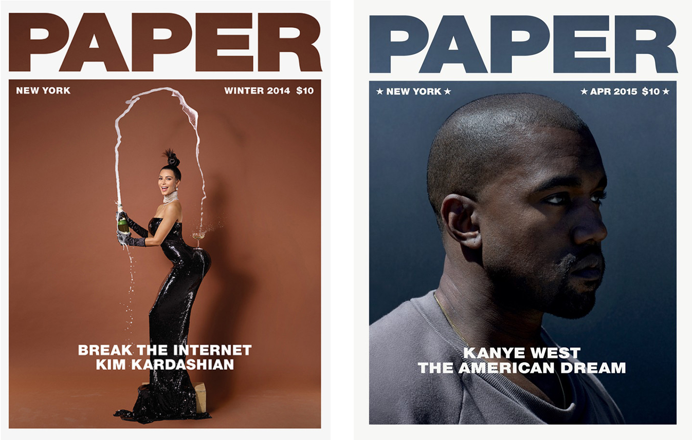 Akmal Shaukat Seth & Sheth Kim Kardashian West Kanye West Paper Magazine Jean Paul Goude.png