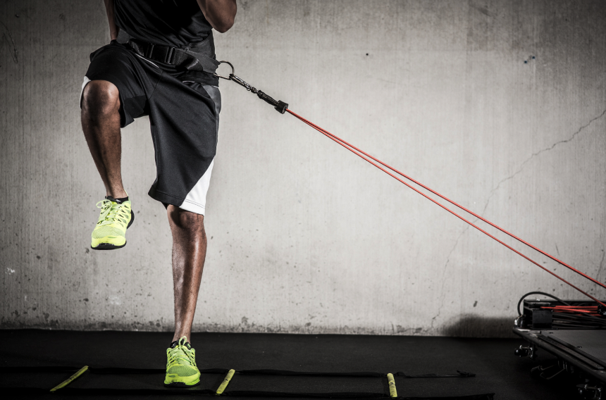 THE VERTIMAX - The revolutionary training system designed to dramatically transform athletic performance, speed and agility