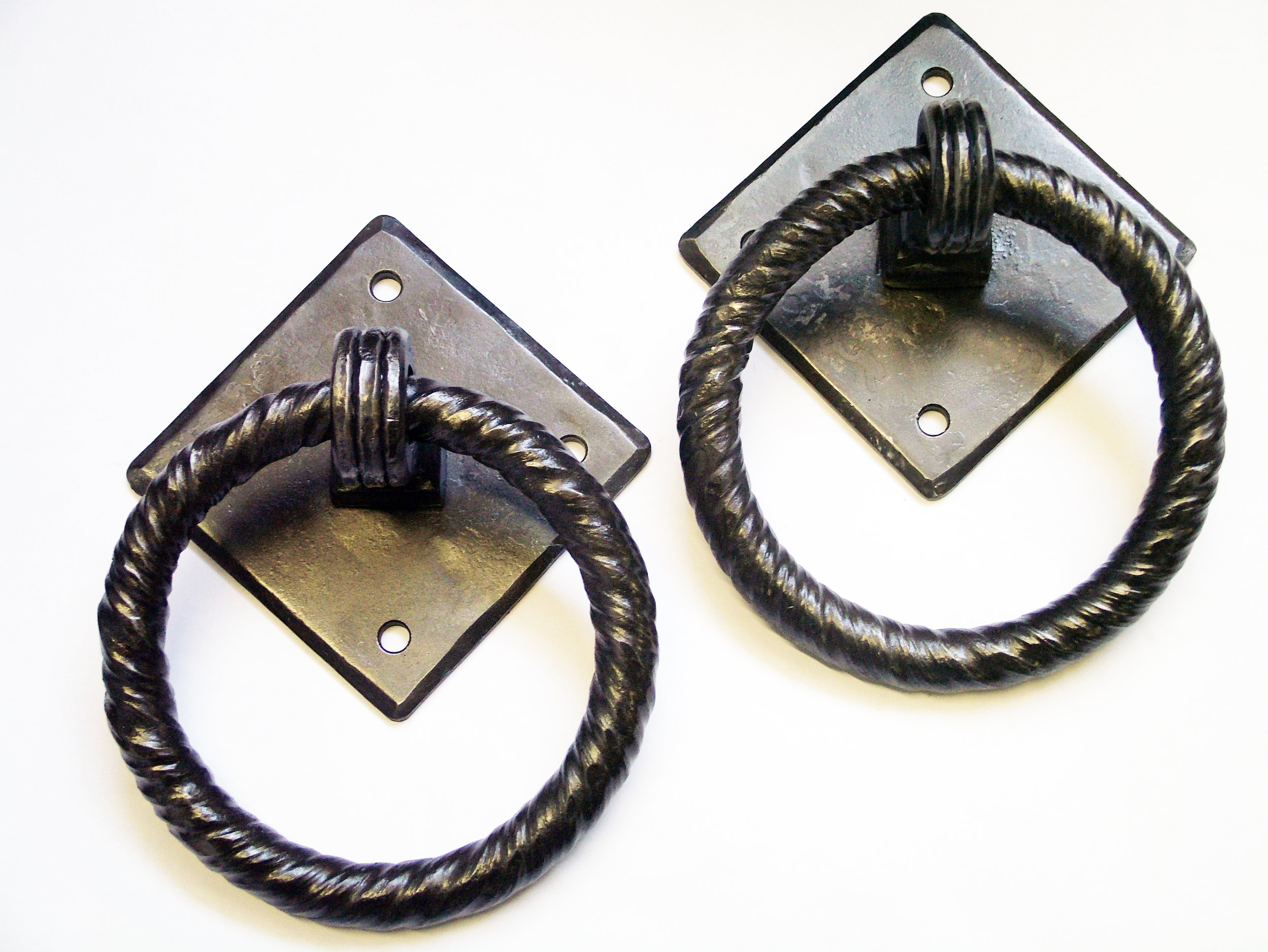 Horse Tie Rings Before Install