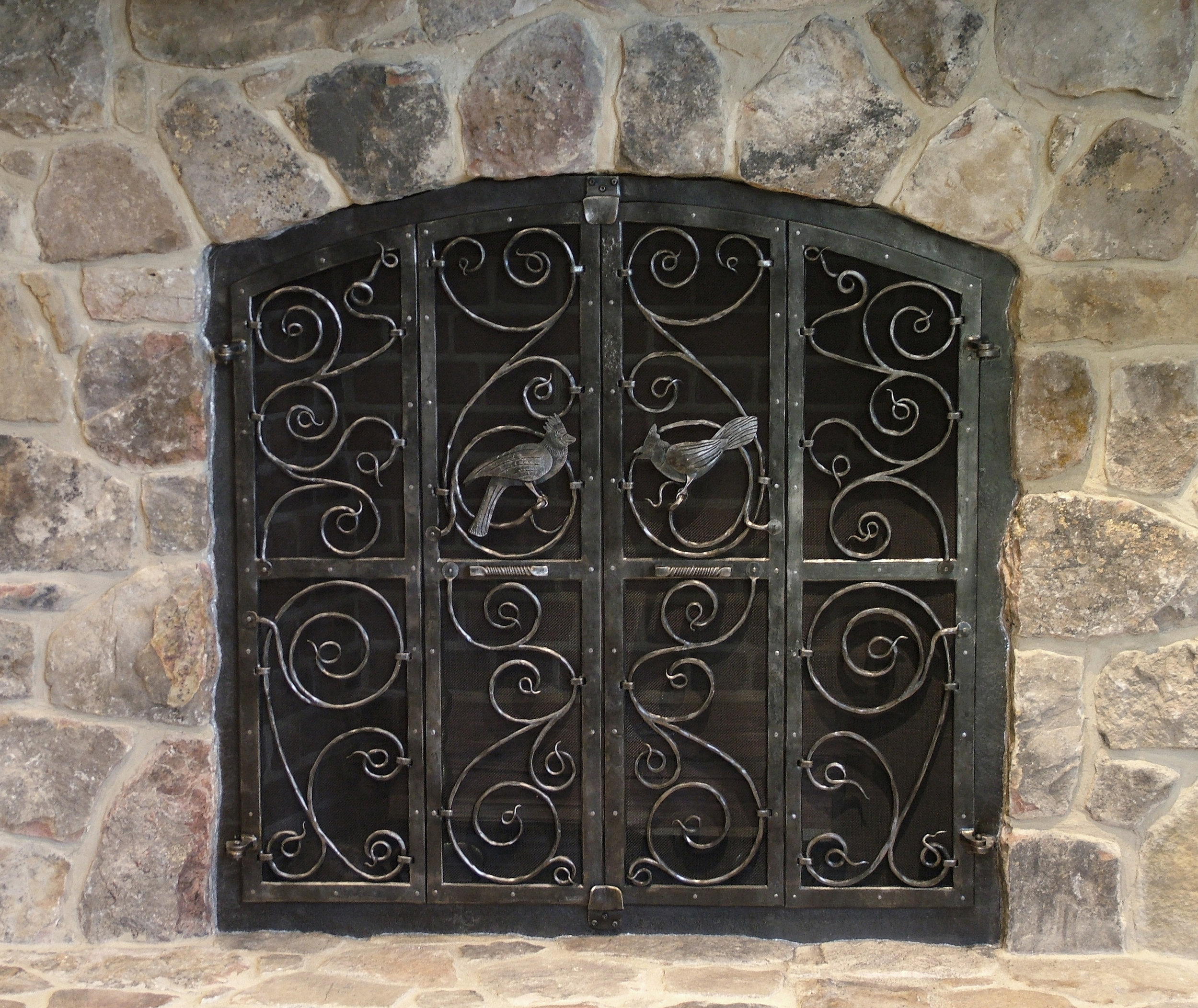 Huber Fireplace Screen