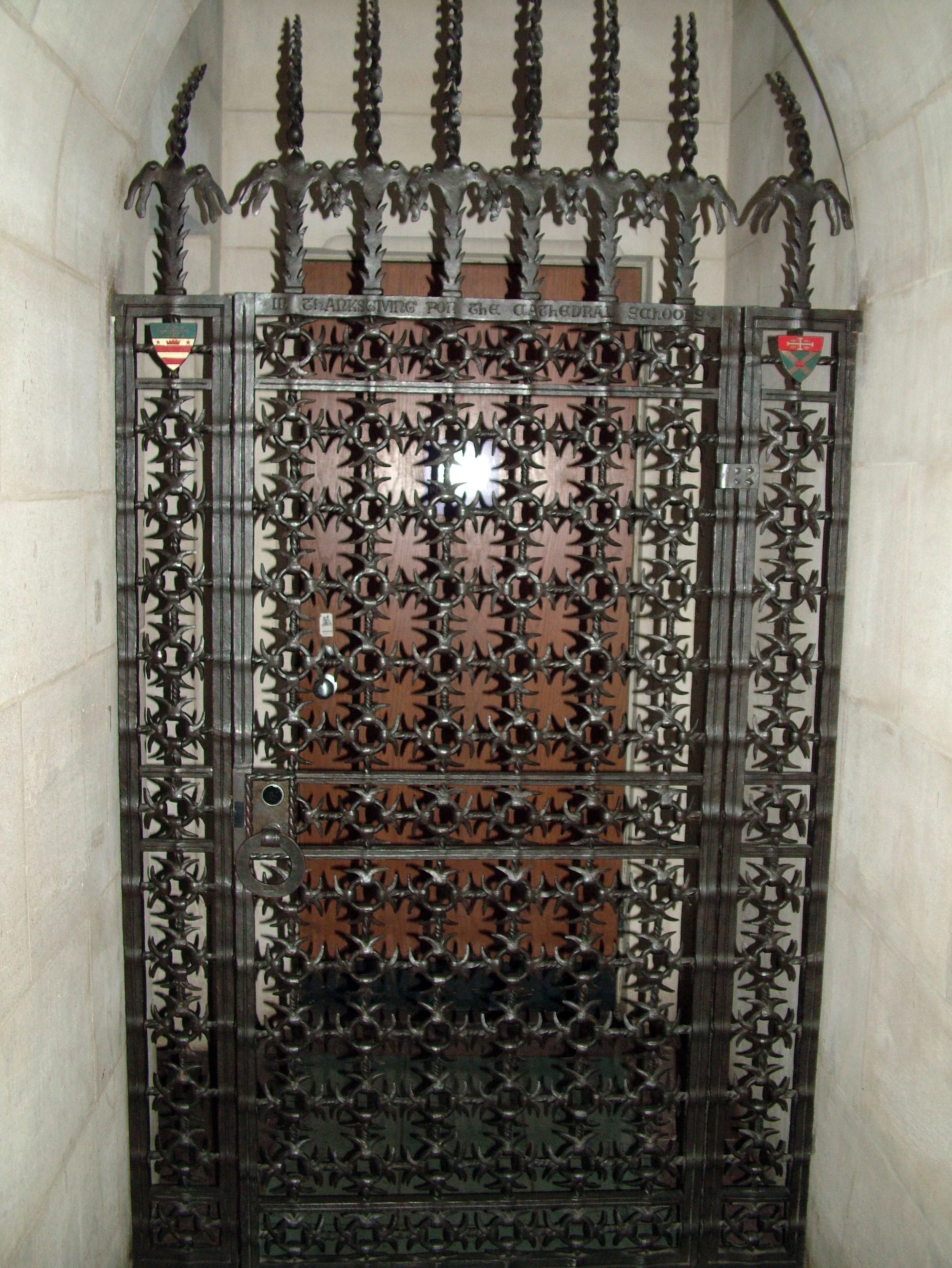 Washington Cathedral Gate