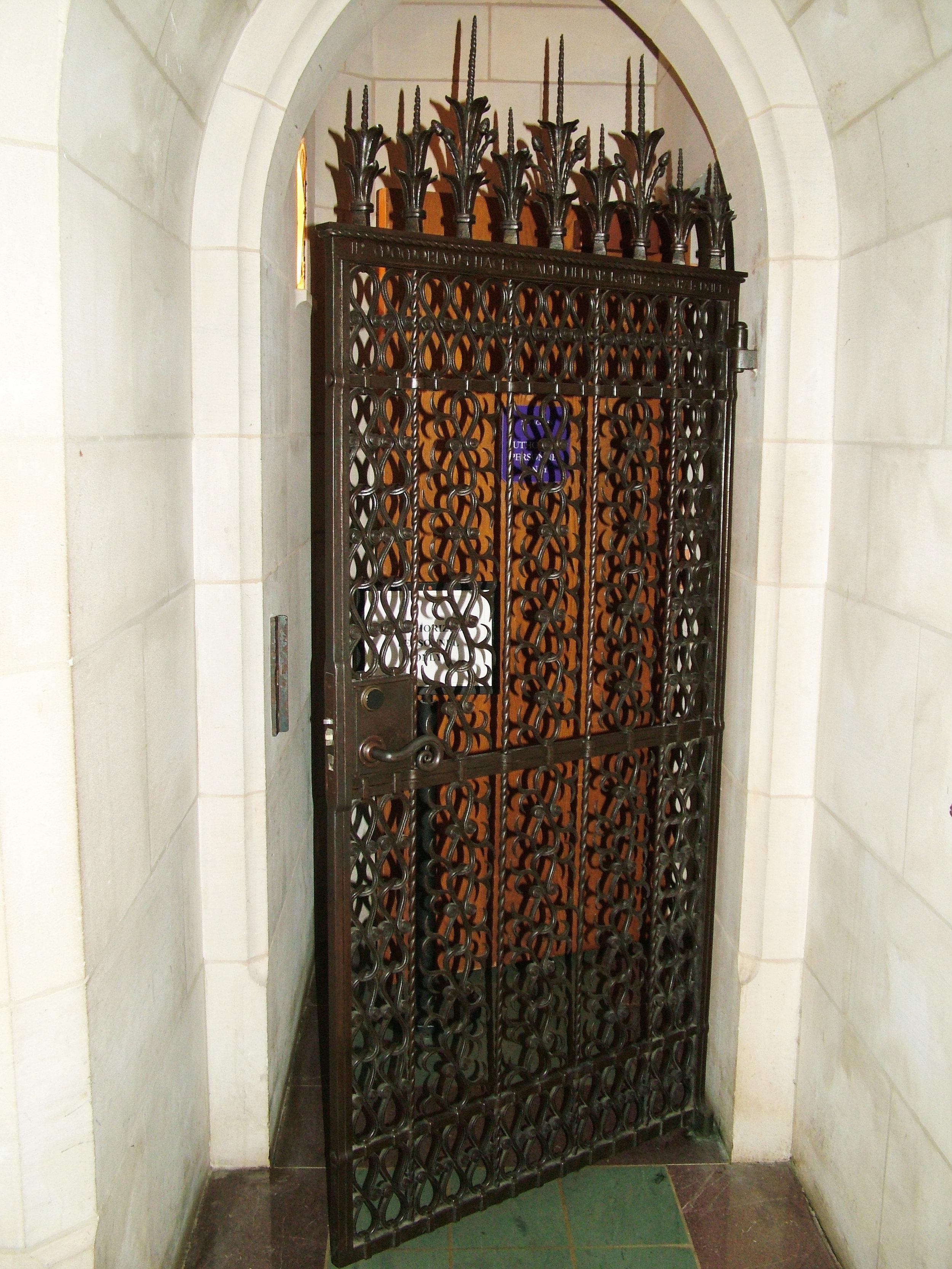 Washington Cathedral Gate #2