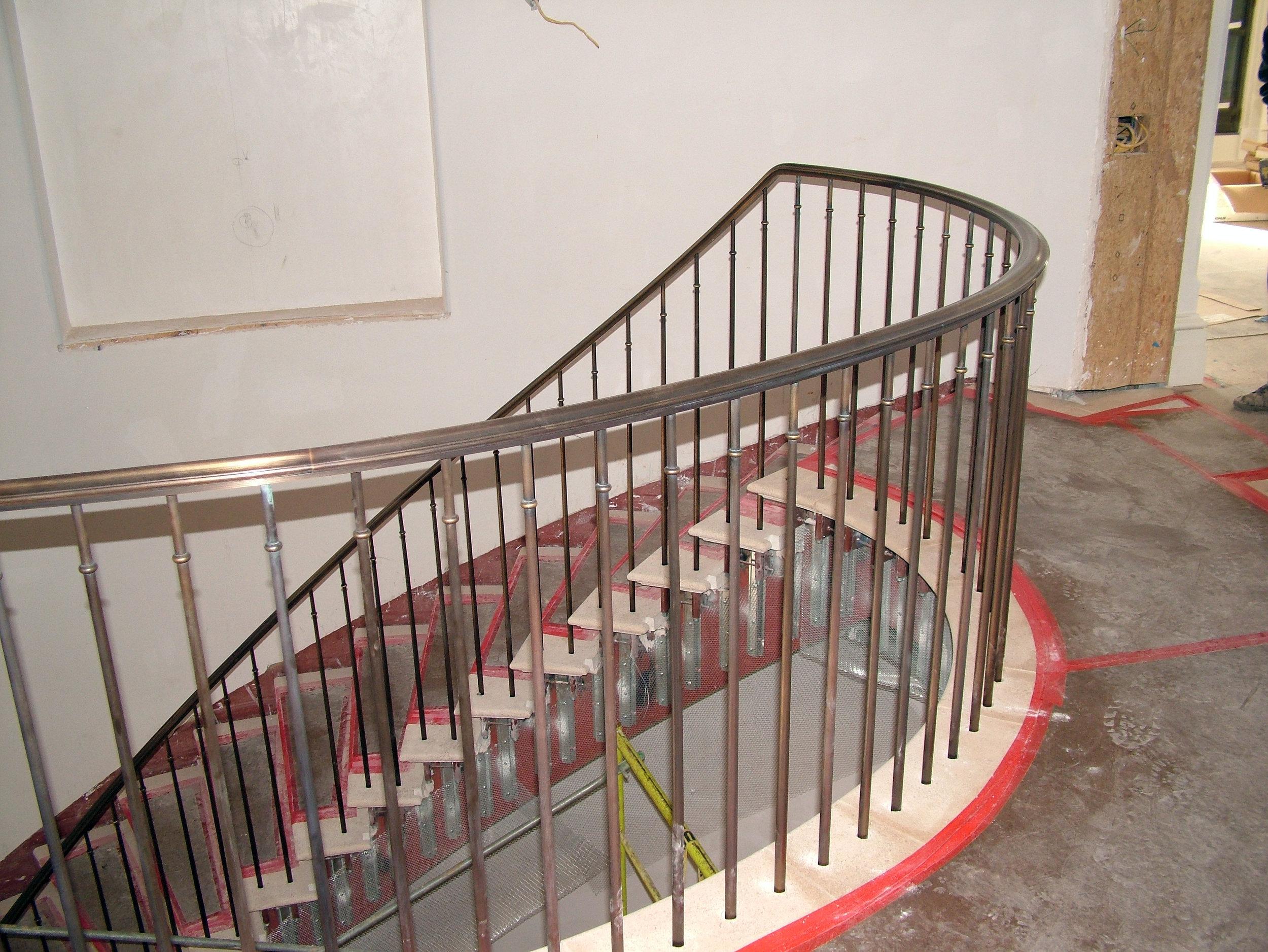 Bronze Spiral Staircase