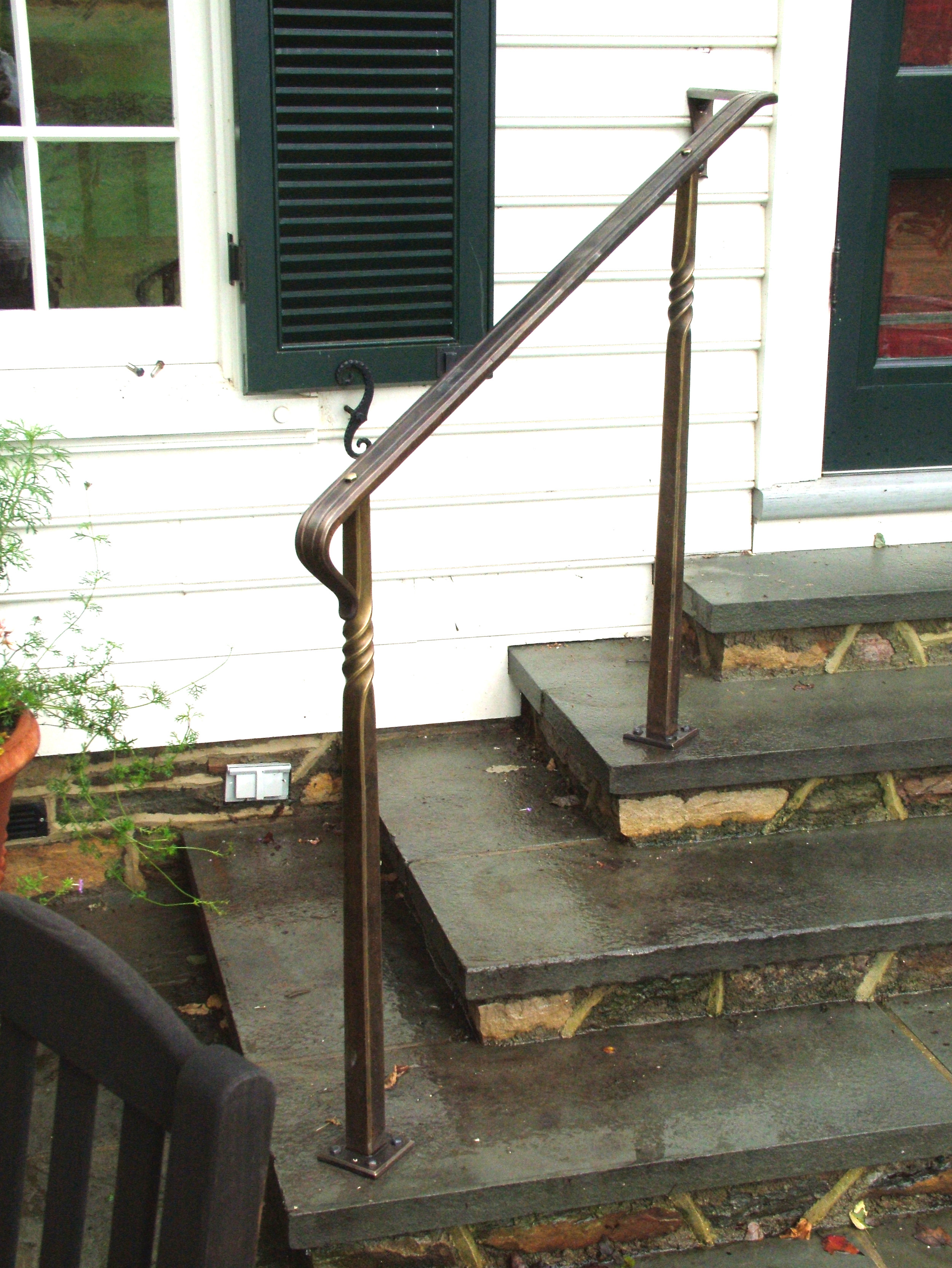 Back Stair Railing