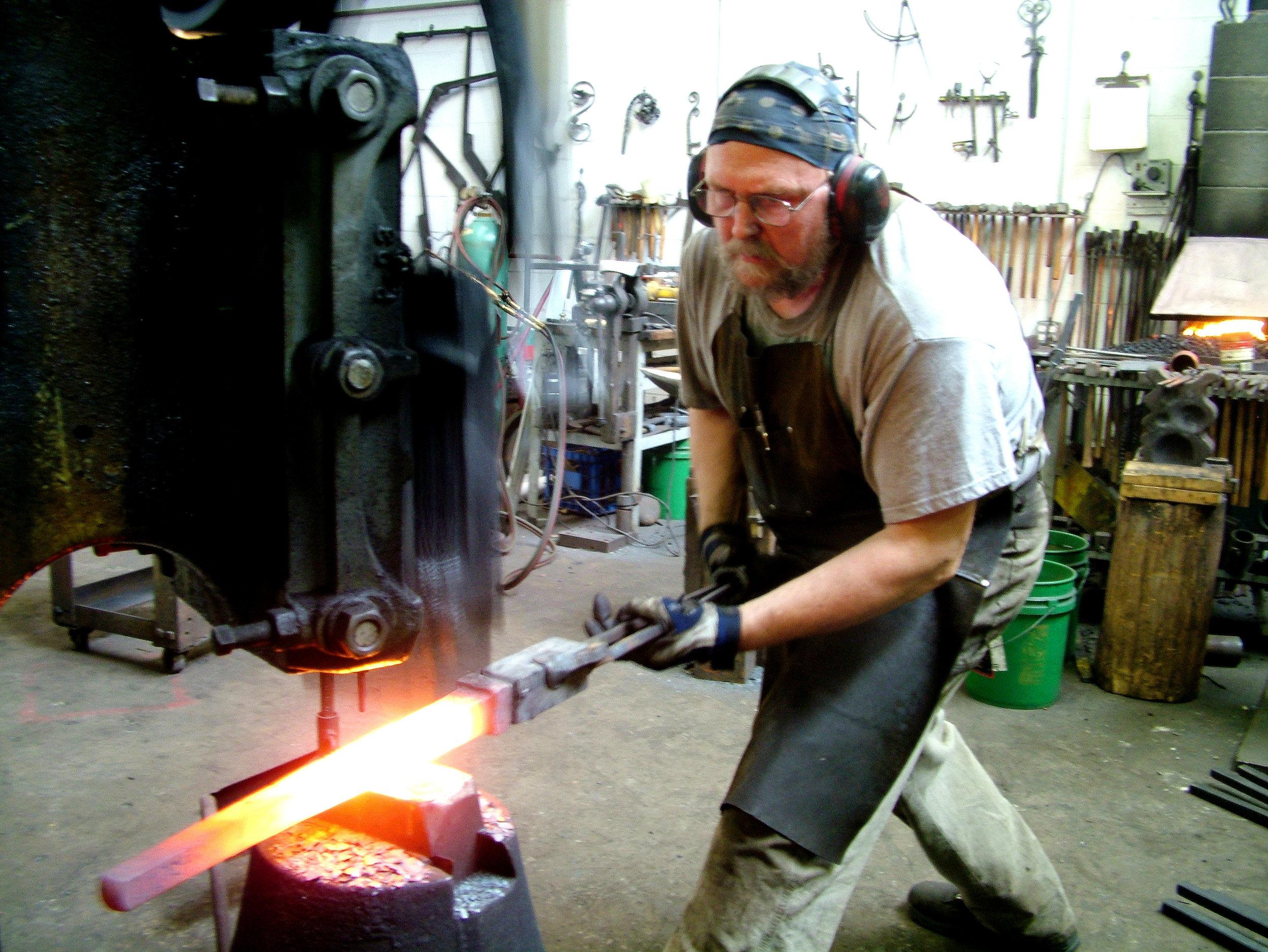 Frederic-Crist-metalsmith-hammer-work.jpg