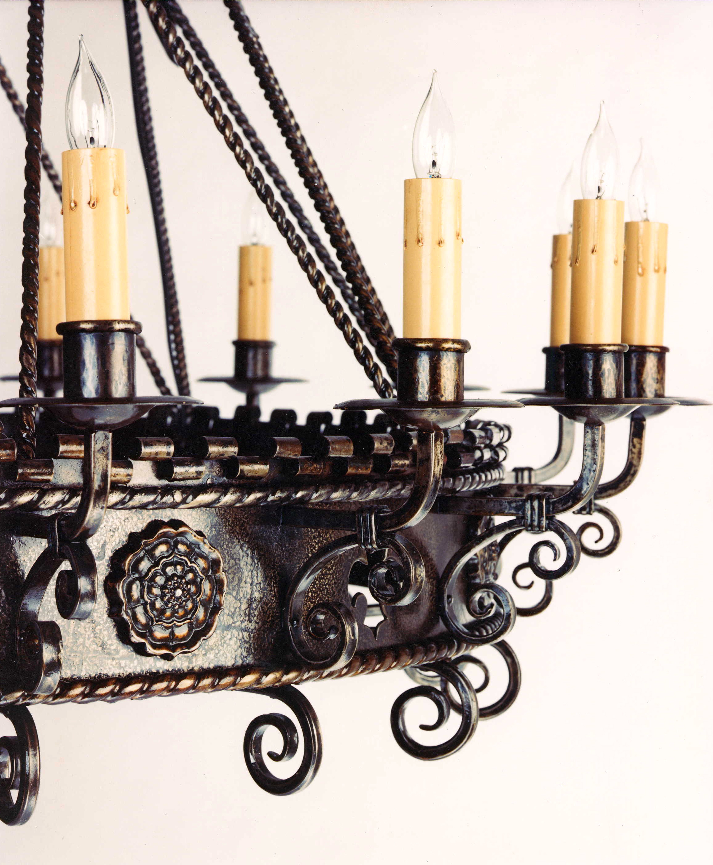Detail of Theater Chandelier