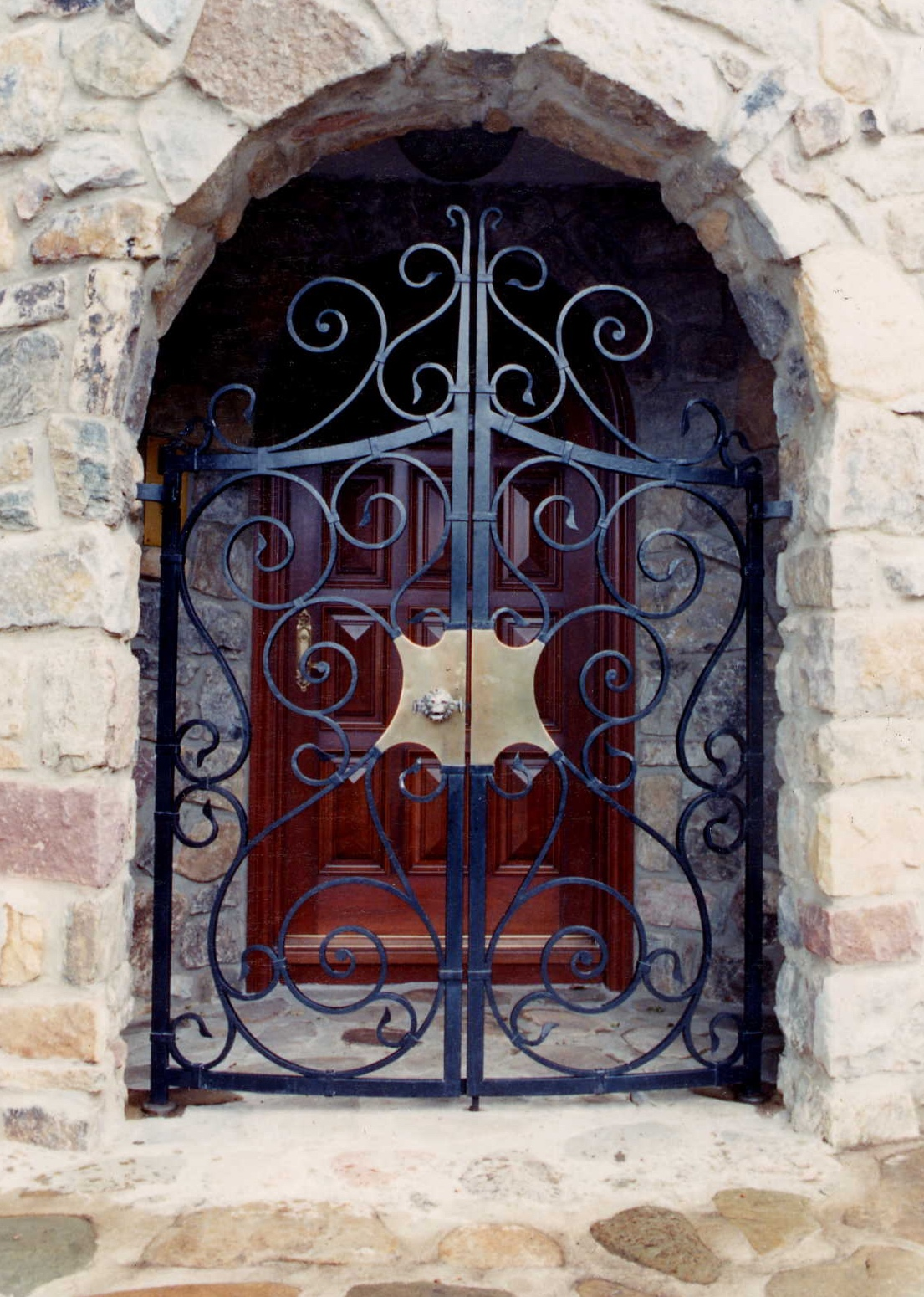 Front Residence Gate