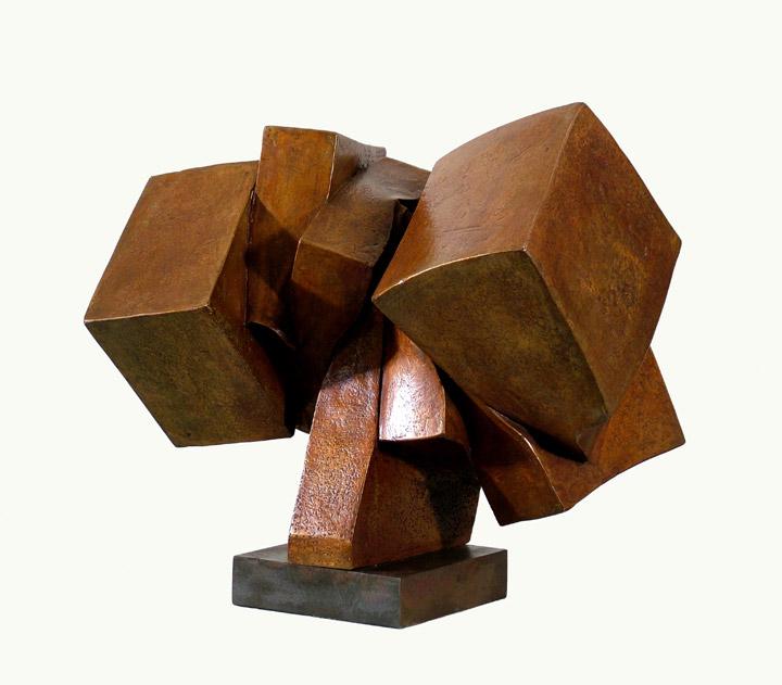 Bronze Pillar  4