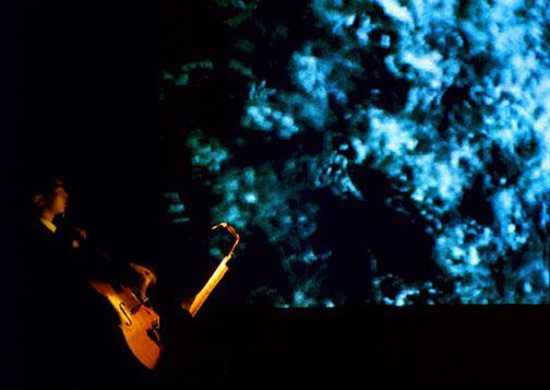 Odyssey: Video for Cello Suite, Black Box Theatre, New York, NY 1999