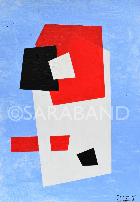 """THE DOCTOR"" - 42x29cm, acrylic on cardboard - £200"
