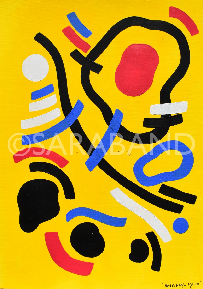 """IMPERIAL MOTH""  Print size: 41x28cm -£50"