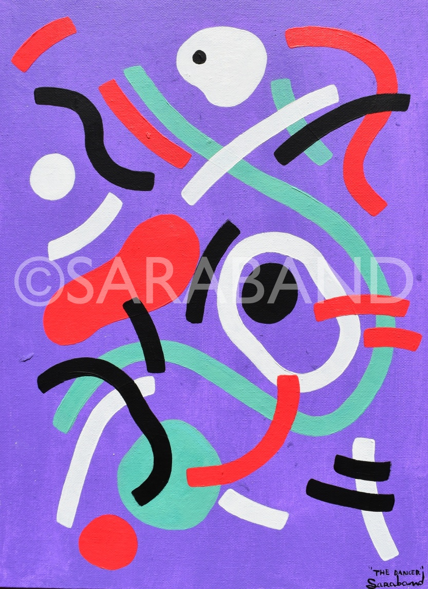 """THE DANCER""   Print size: 41x30cm - £55"