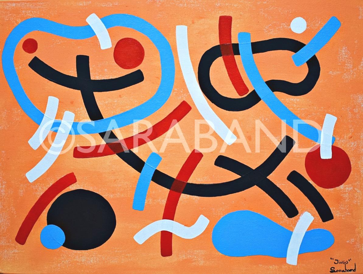 """""""JINGO""""  Print size: 29x39cm - £50"""