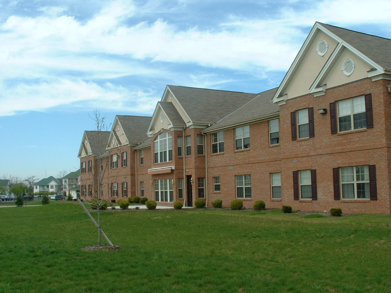 Grand HAvens Commons - TAx Credit / Affordable Housing  Located in Reynoldsburg, Ohio, Grand Haven is one of 8 HUD 202 buildings designed by JMAC.   CONSTRUCTION COST:  $4.2 million  LOCATION:  Reynoldsburg, OH  INCLUDES:  80 one and two-bedroom apartments