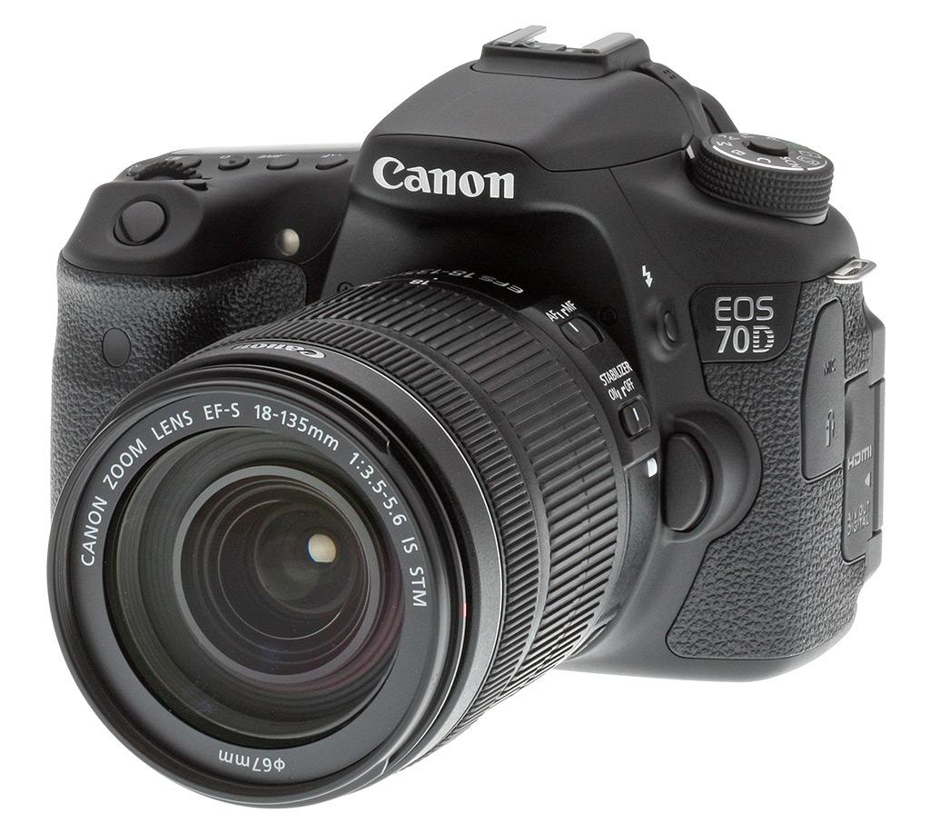 Canon 70D - DSLR Camera