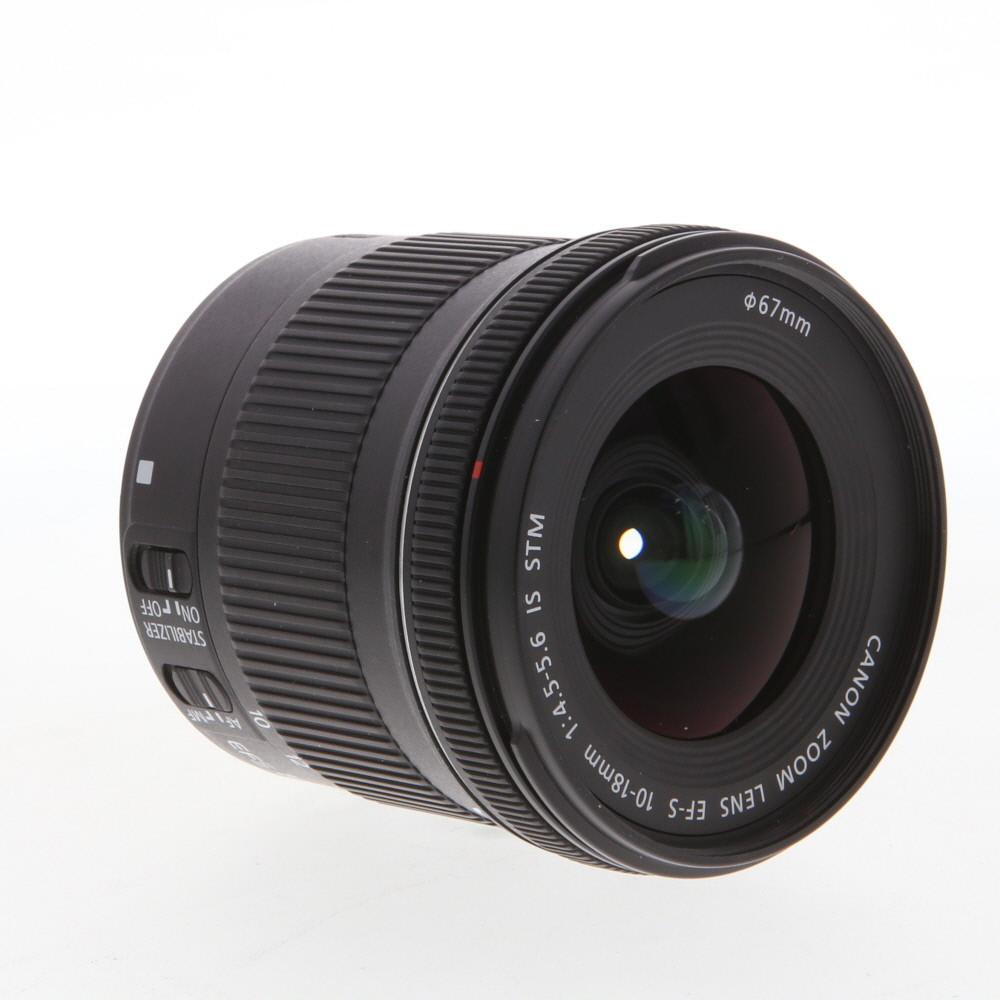 Canon 10-18 lens -