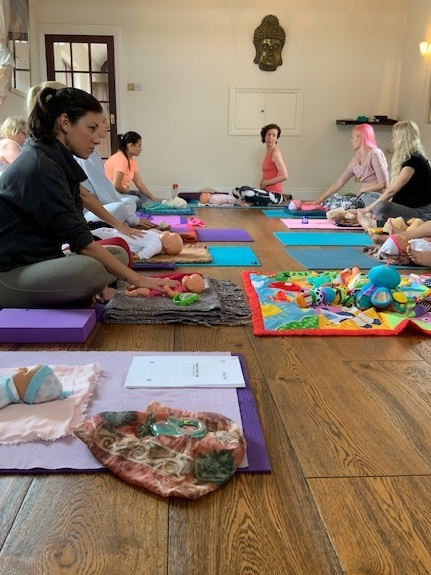 Mother and baby class -