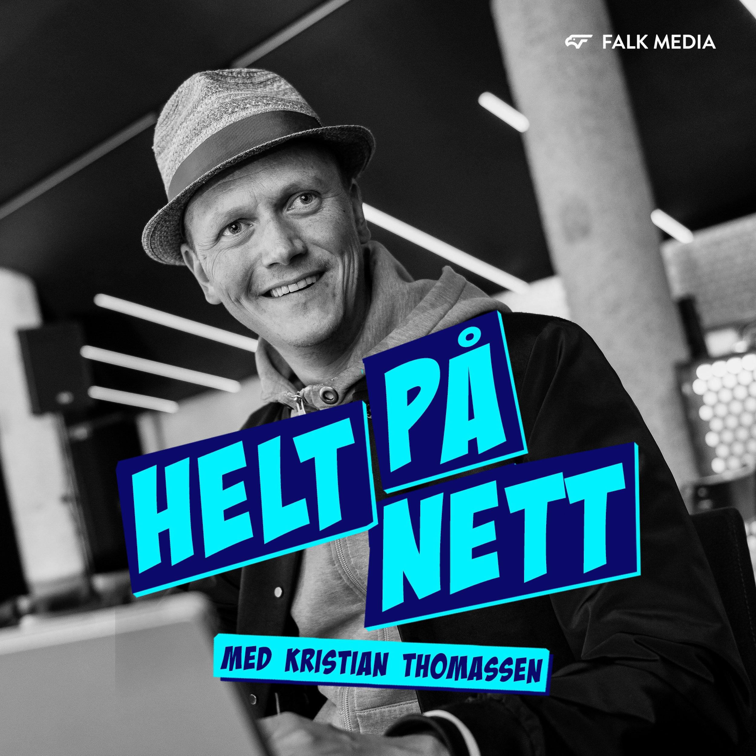 Helt på Nett - En podkast der Kristian Thomassen snakker om markedsføring på nett, og hva som er siste nytt innenfor sosiale medier. Målet er at lytterne skal bli litt klokere for hver uke. Episodene er korte og presise, og spilles gjerne inn på farten over en kopp kaffe.