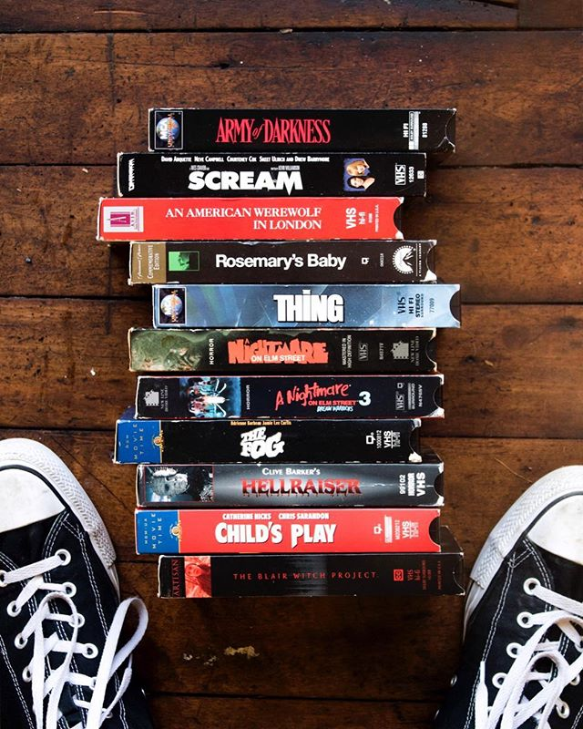 """Found a list of the 100 best horror movies of all time. I had already seen like, 60, so I was like, """"Might as well watch 40 movies 🤷🏽♂️"""" I have too much time on my hands. What's y'all's favorite scary movie? 👹🤡👽"""