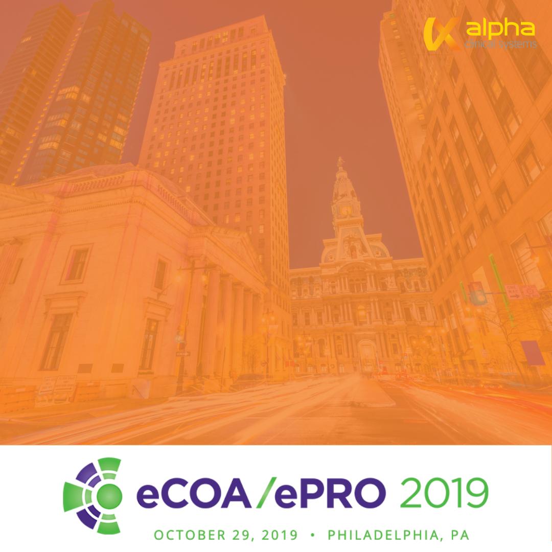 CBI ePRO/ecOA 2019 - October 29 | Philadelphia