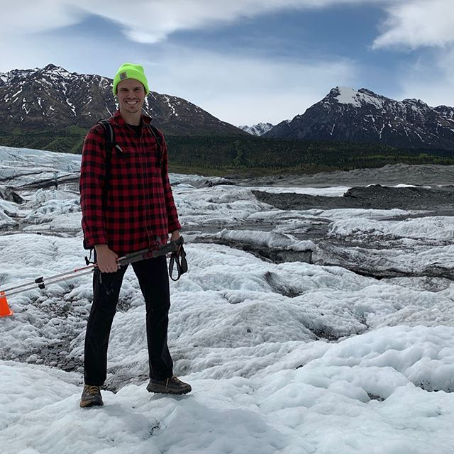 Everyone meet Dan! He's a dental assistant here at the office, and a true outdoorsman. He enjoys to fish, ski, hike, and play sand volleyball. 🎣🎿🏔🏐 He spent the last week in Alaska visiting family and watched his best friend get married! ✈️🎉Check out these awesome photos of him hiking Matanuska Glacier! #MFDexperience #smile fam
