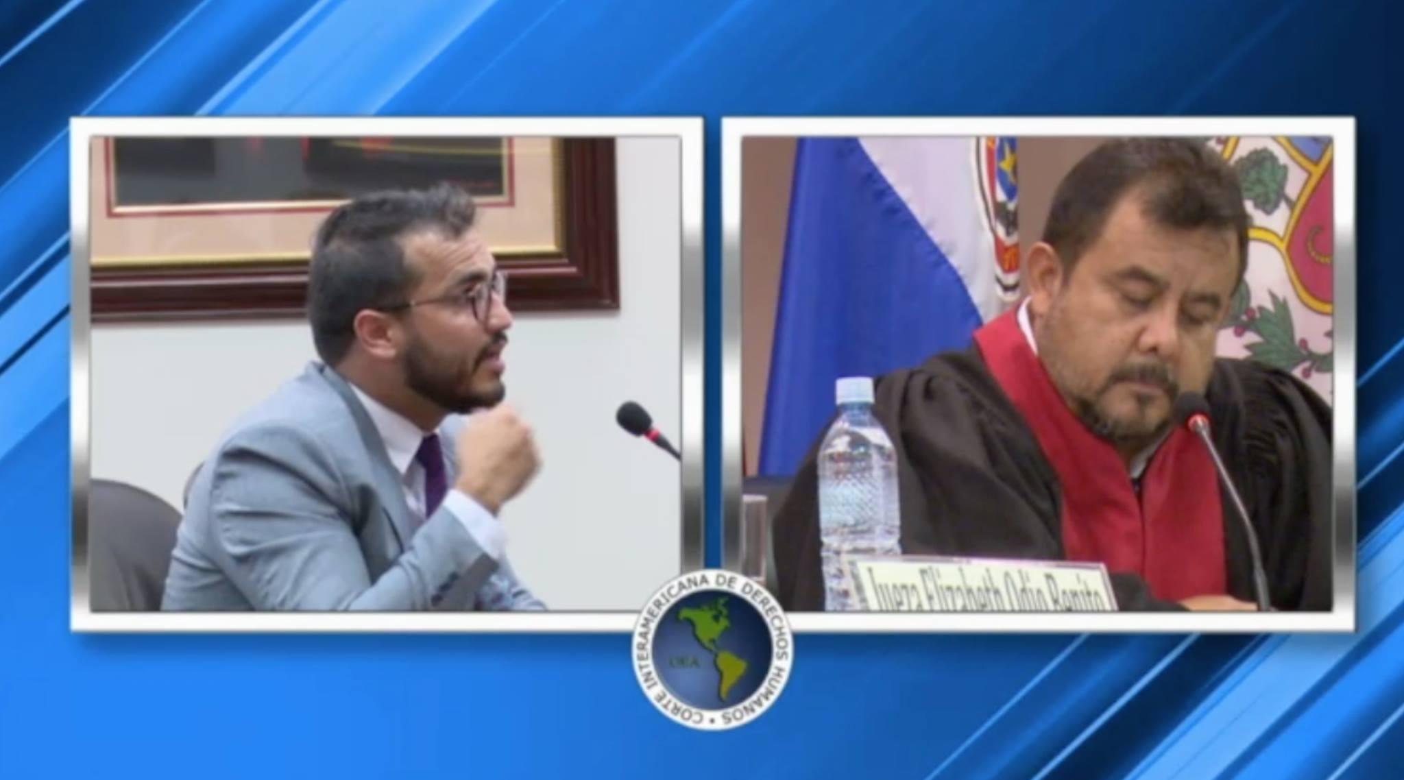 Herman Duarte ante la Corte Interamericana de Derechos Humanos