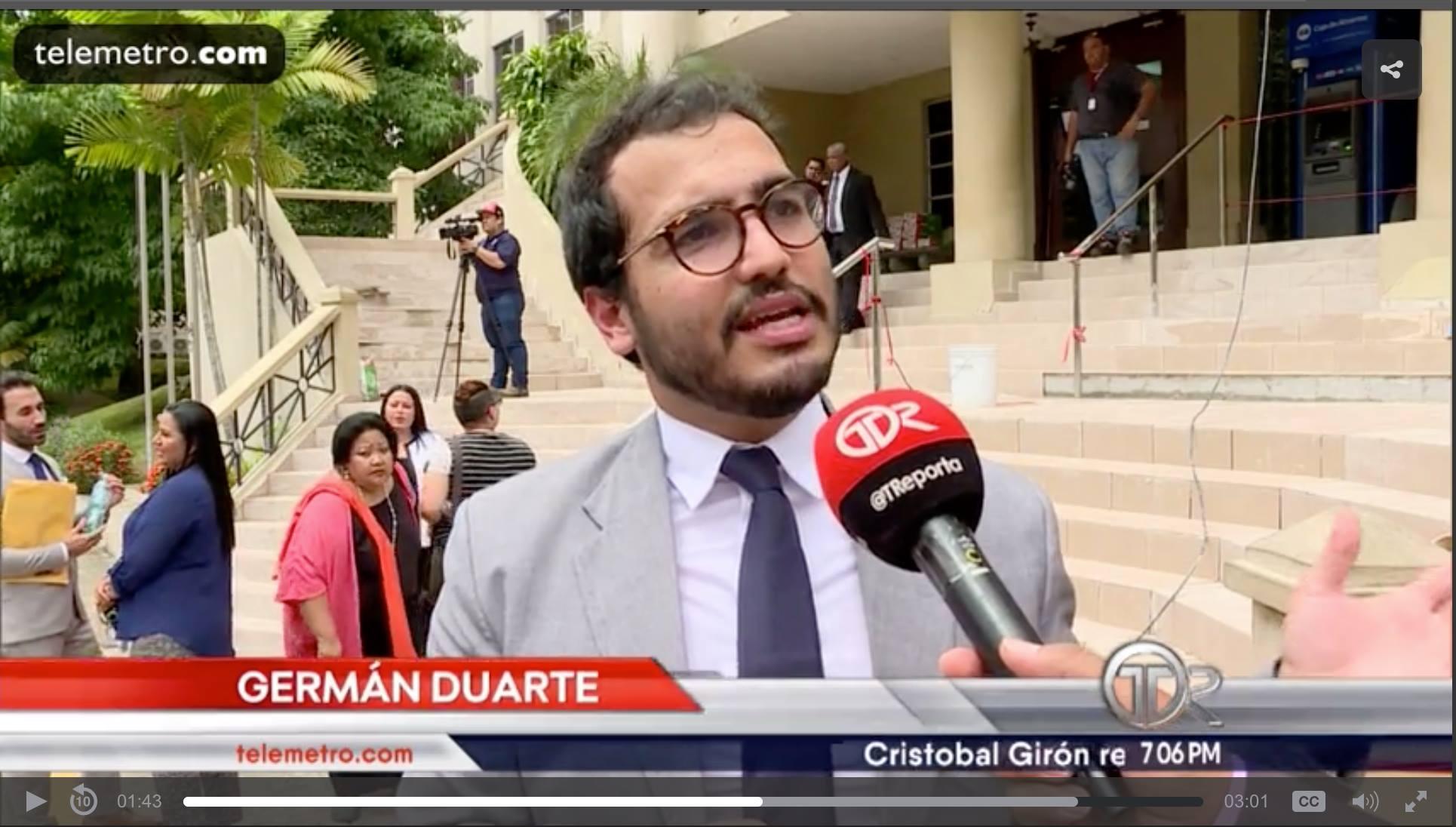 Herman Duarte en Panamá