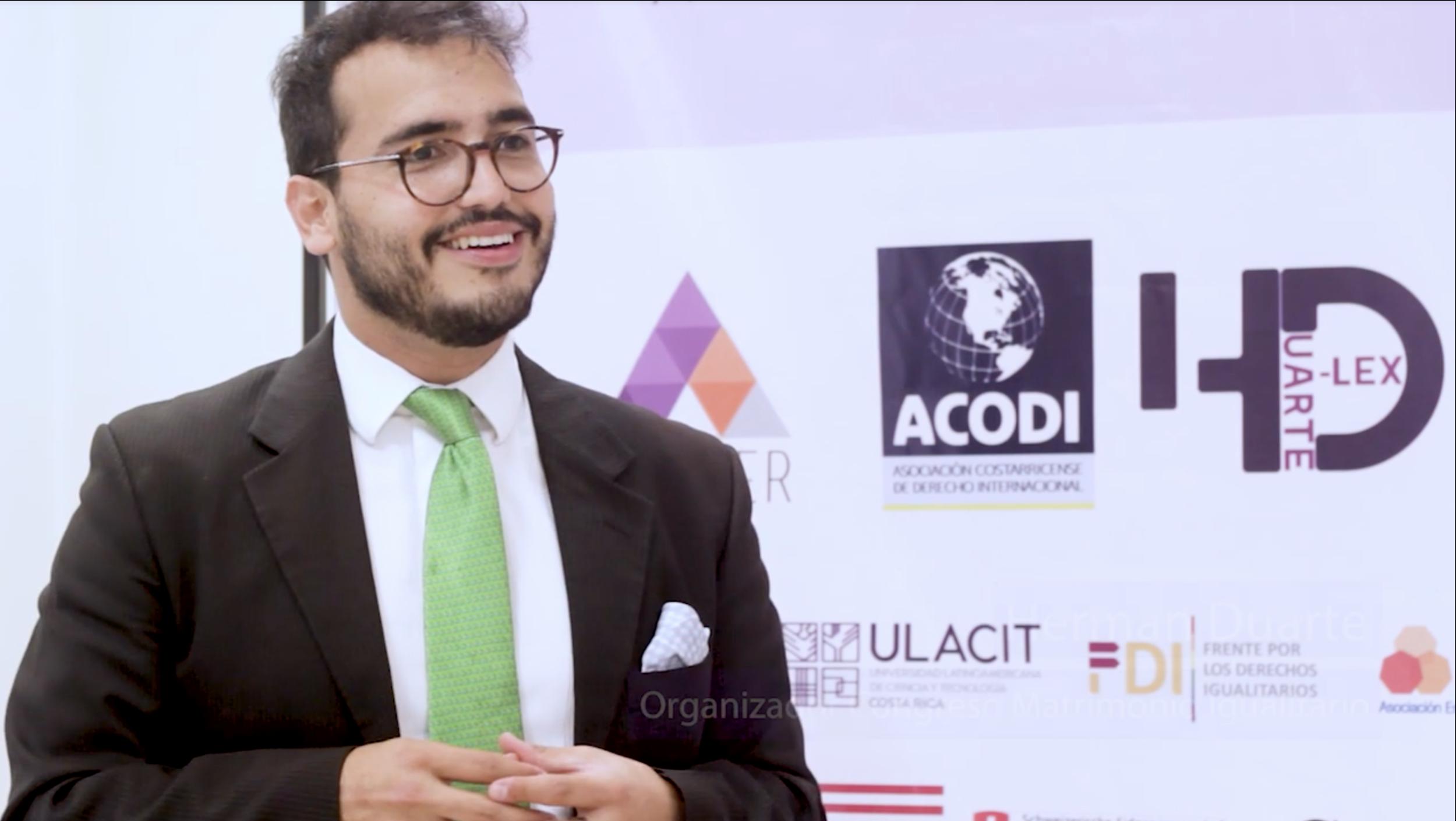 Herman Duarte presente en el I Congreso de Matrimonio Igualitario del continente americano