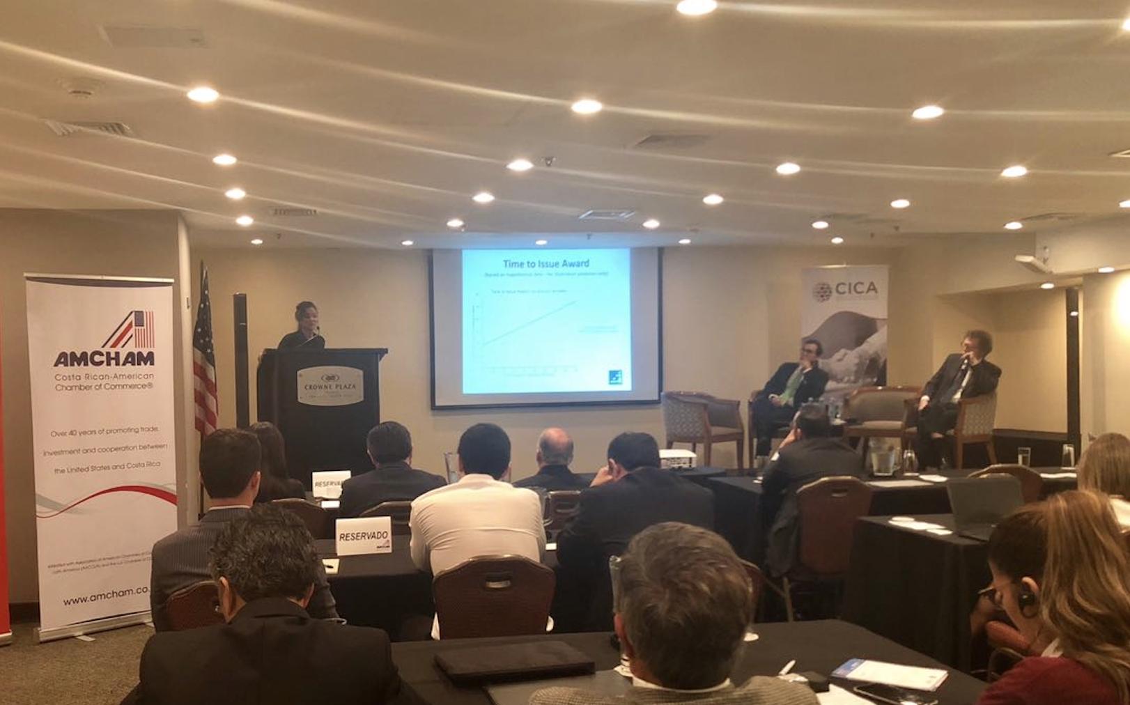 Herman Duarte presente en congreso sobre nuevas tecnologías en el arbitraje