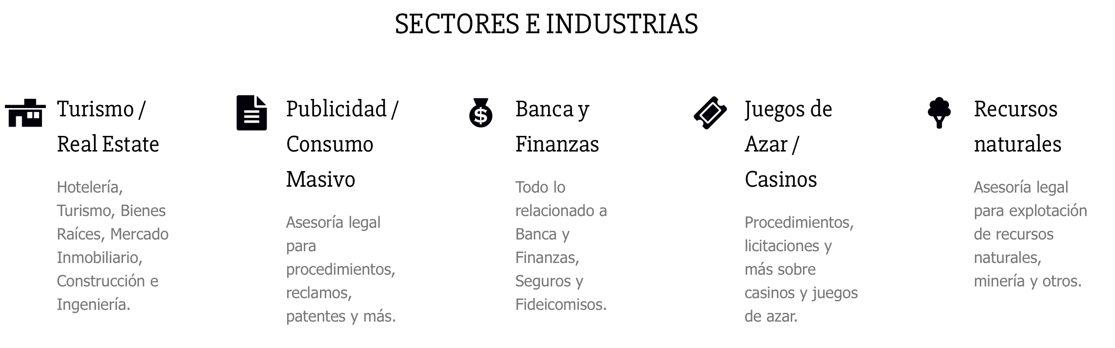 Sectores-industrias-atendidas