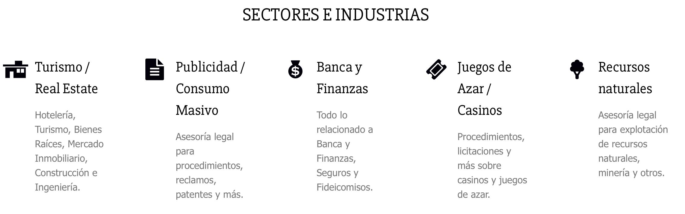 sectores- e-industrias