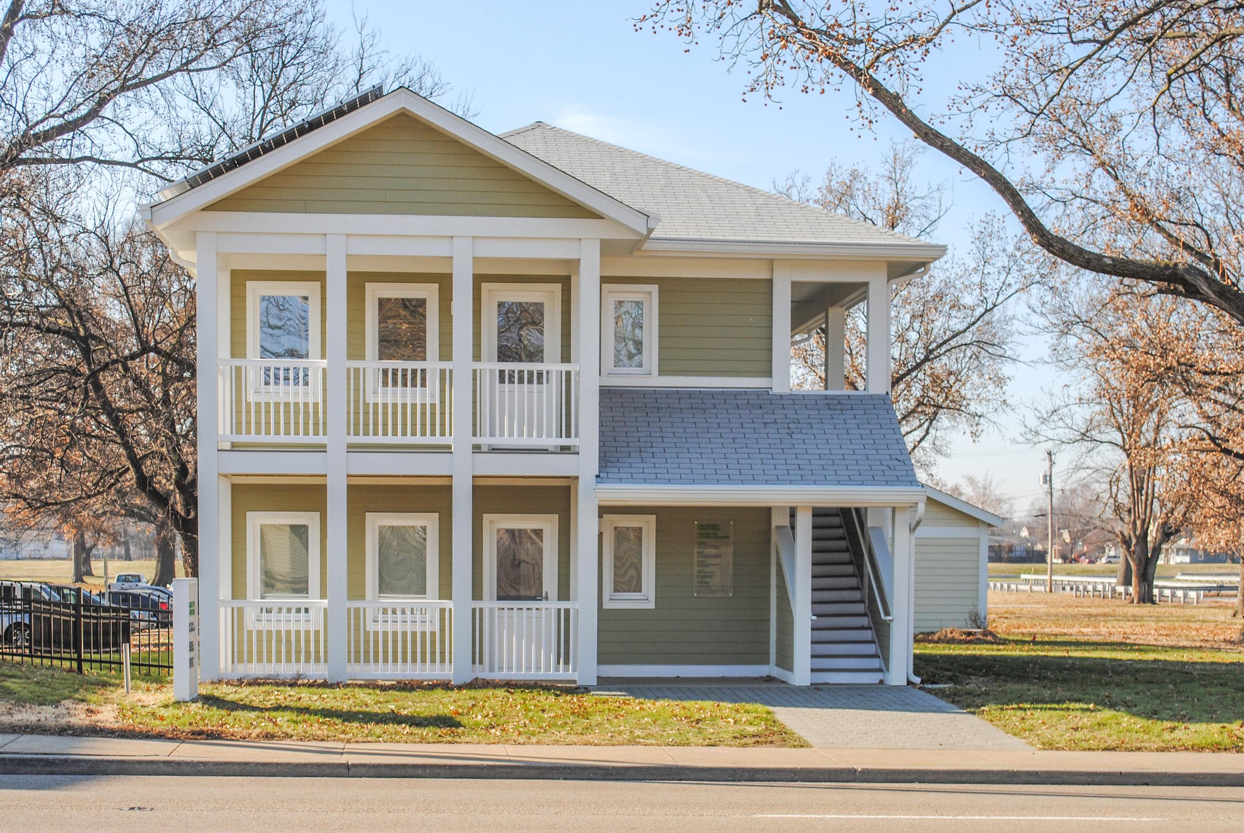 Granite City Passive House | Granite City Housing Authority - Granite City, IL