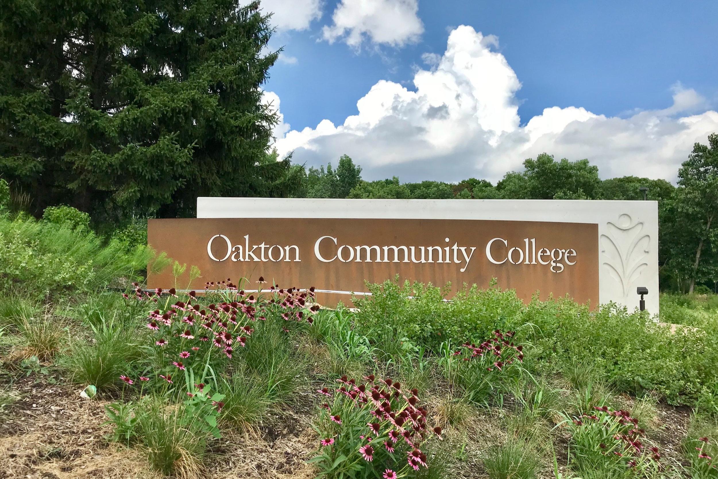 Oakton Community College Signage -