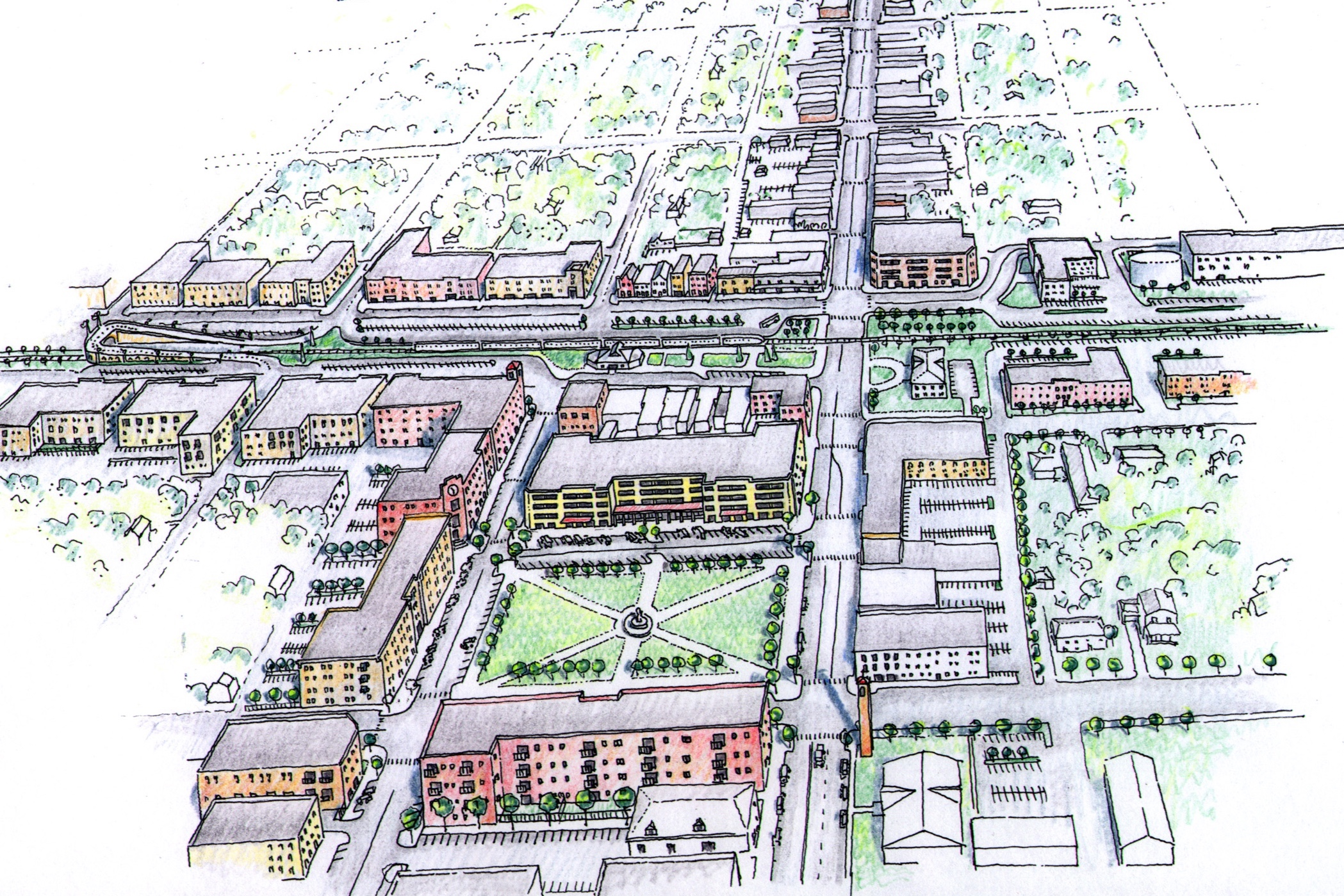 Westmont Downtown Redevelopment Plan -