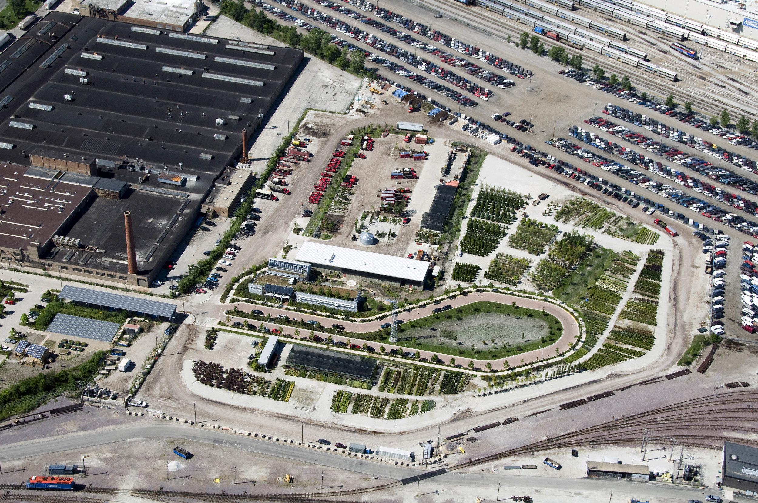 Rancho Verde Eco Industrial Park   Christy Webber Landscapes - Chicago, IL