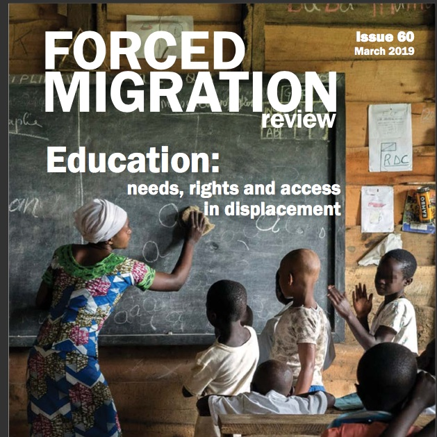 OLIve UEL students' article in the Forced Migration Review