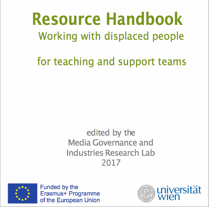 REIs  Handbook of Trauma Management Resources  for teachers working with displaced individuals.