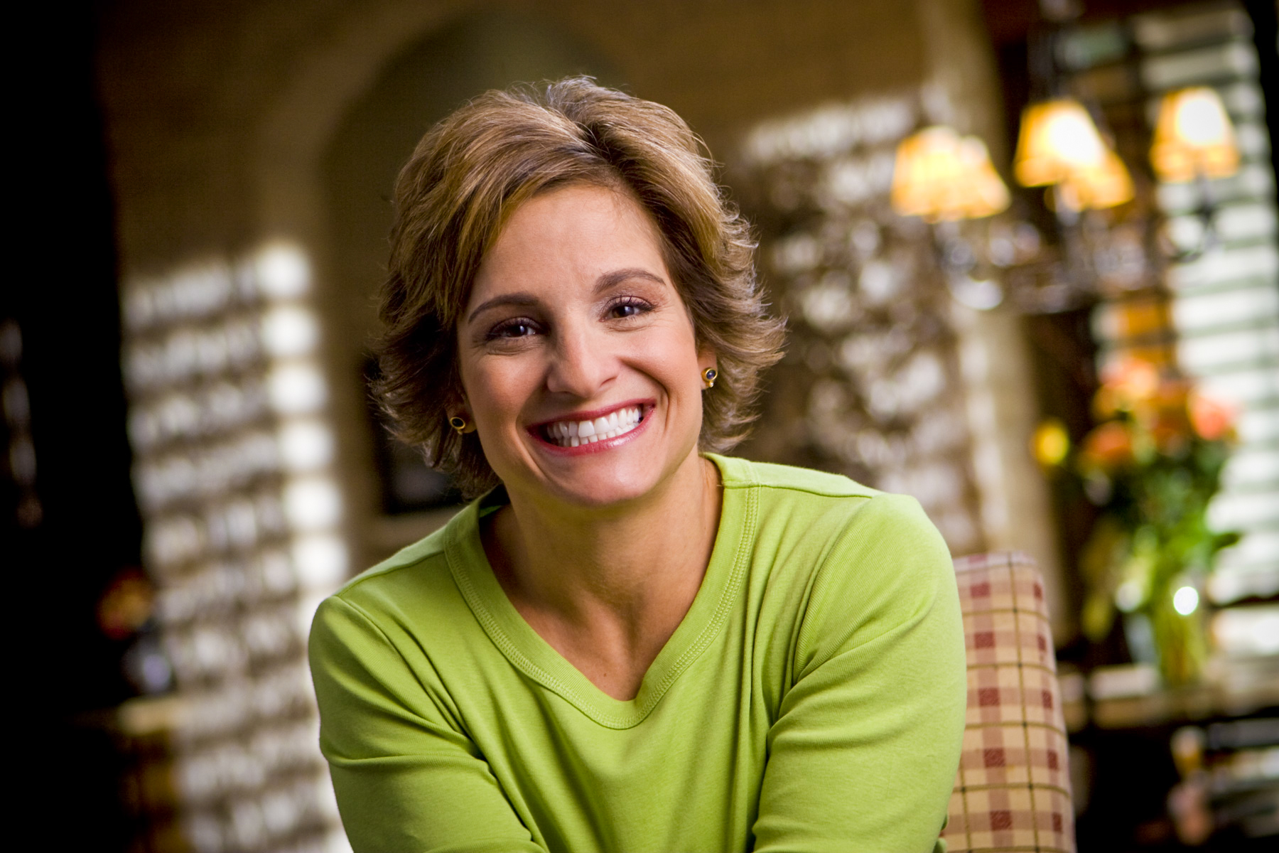 Mary Lou Retton - Olympic Gold Metalist