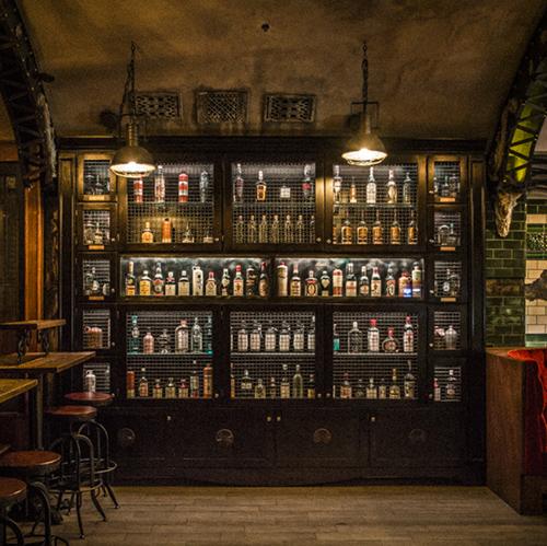 "Gin Locker. Links to "" High Times for Hard Liquor """
