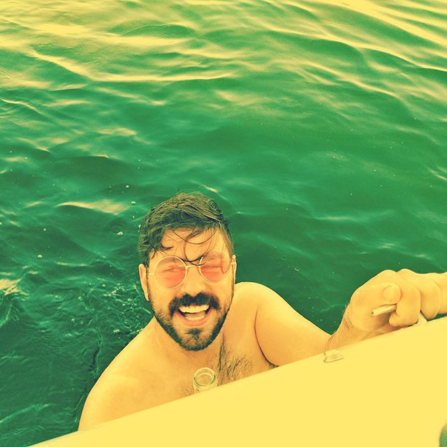 boy + beer + boat