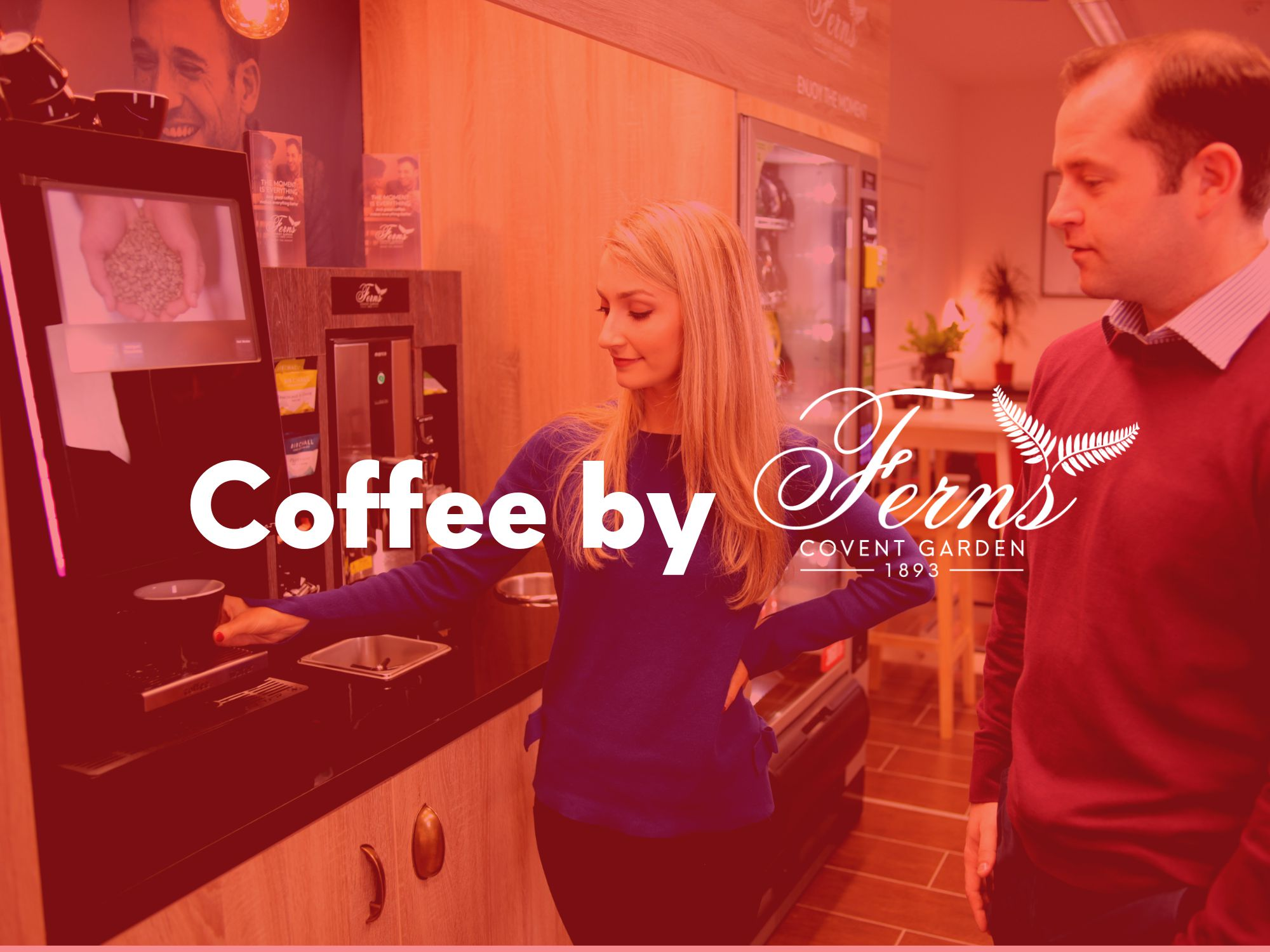 Coffee and tea solutions which provide a hub for connections and time out. -