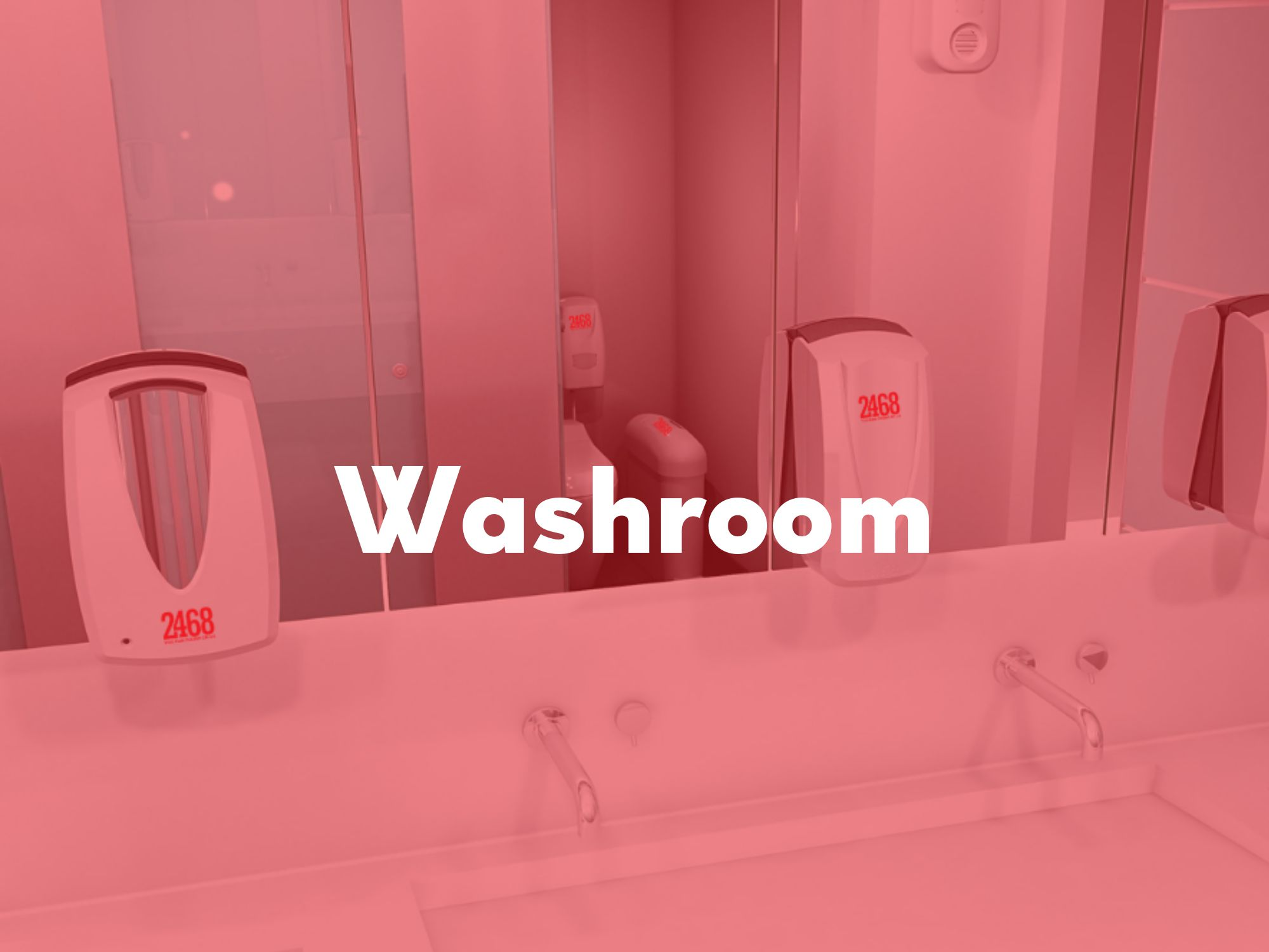 Washrooms which offer a welcoming space to recharge, refresh and renew. -