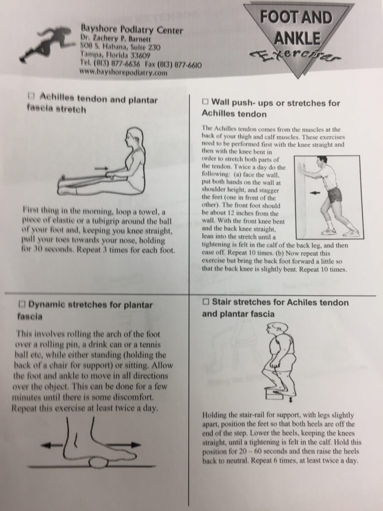 Preventative Stretches for Heel and Achilles pain and Research to Back it!