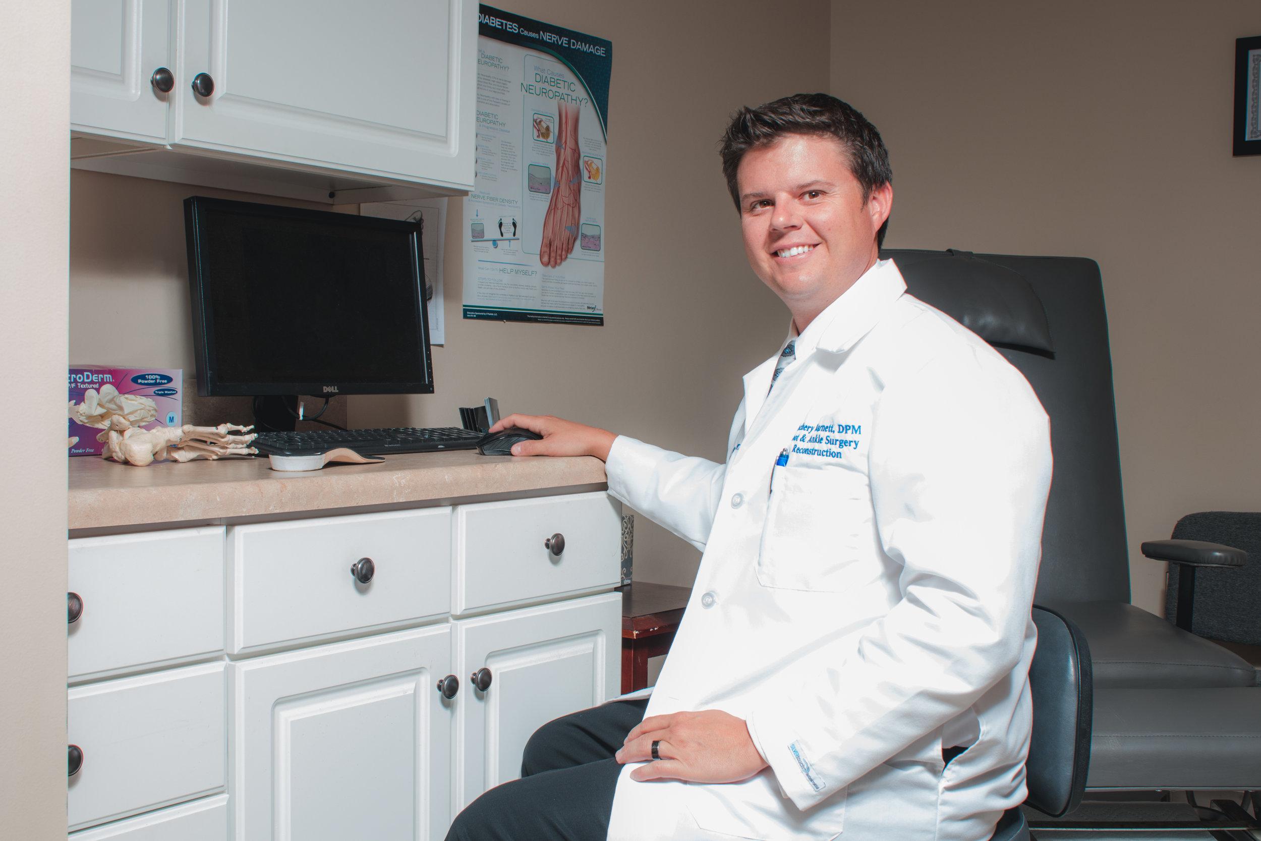 Foot Specialist Dr. Zachery Philip Barnett