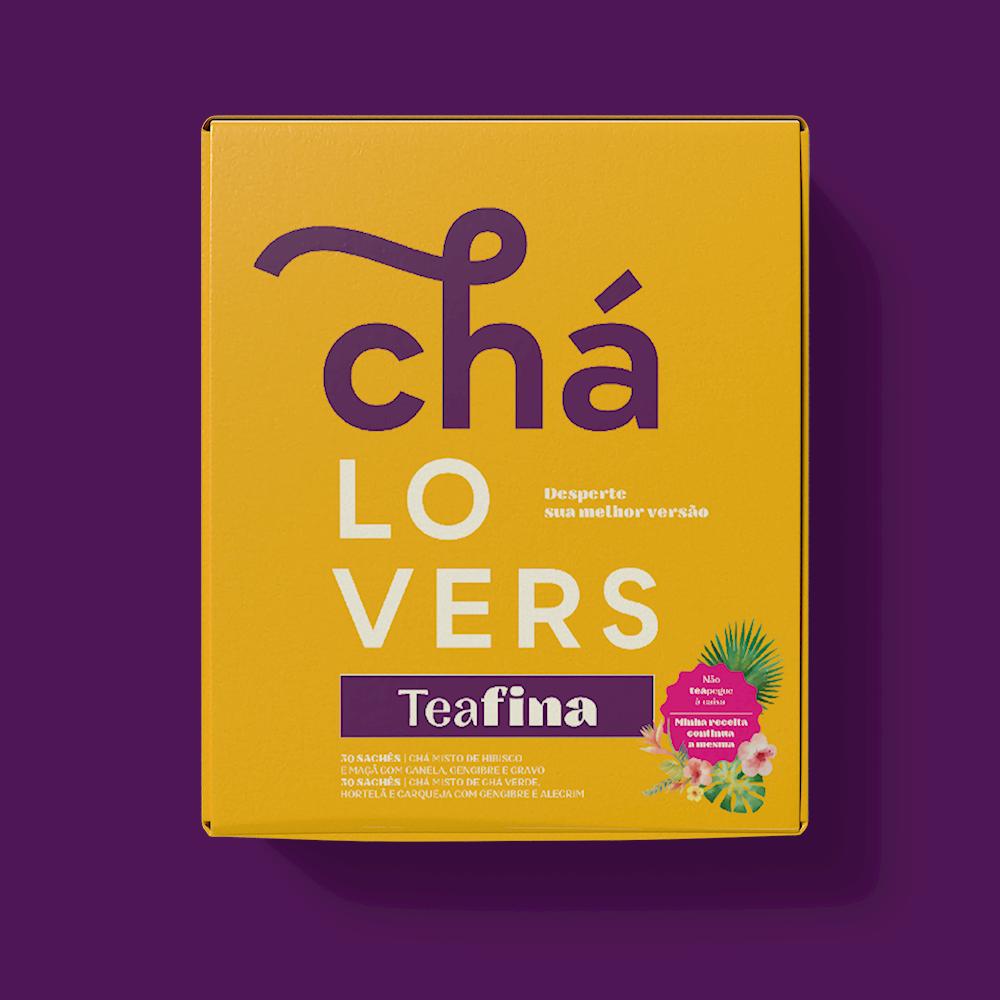Chá Lovers Teafina