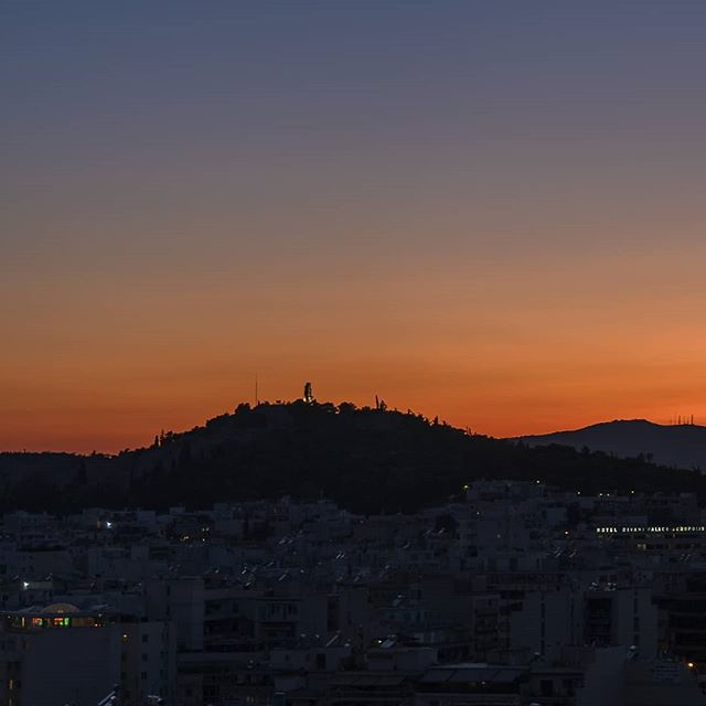 #greece #athens #acropolis #photography #city #sunset #europe #worktrip