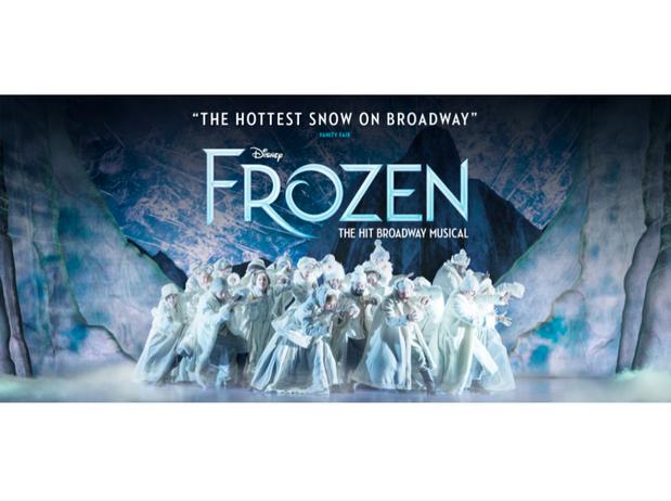 2 x Premium Tickets to Disney's FROZEN, the Broadway Musical