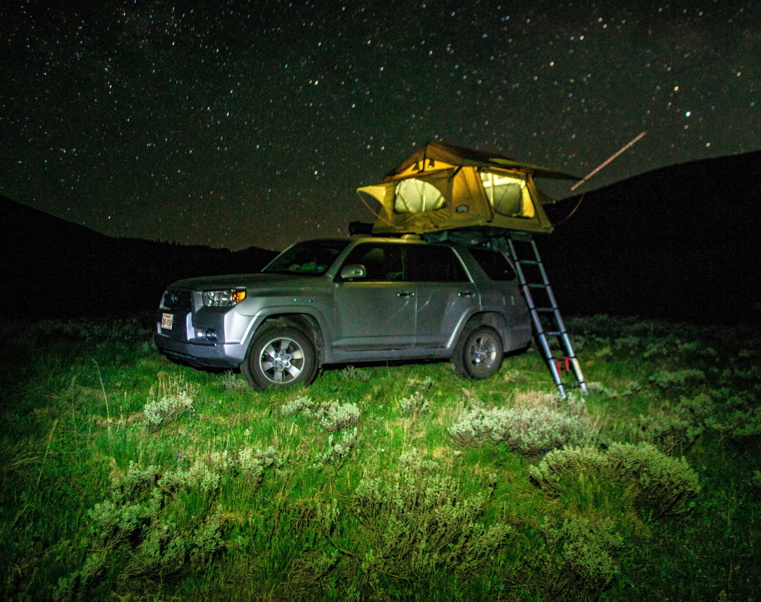 """Summer Home"" in Gunnison National Forest"